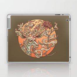 Deer Smoke & Indian Paintbrush Laptop & iPad Skin