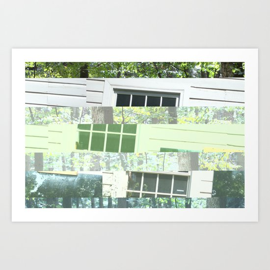 crash_ 09 Art Print