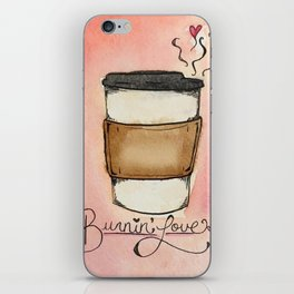 Burnin' Love iPhone Skin