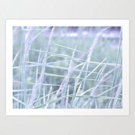 Wind Through the Grass Art Print