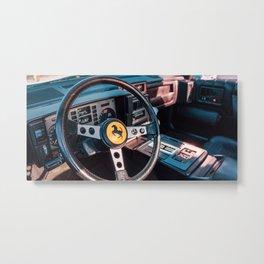 CARS & COFFEE. 003. Metal Print