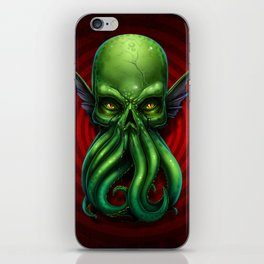 Cthulhu Skull 2013 iPhone Skin