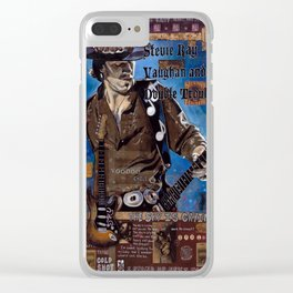 Stevie Ray Vaughan Clear iPhone Case