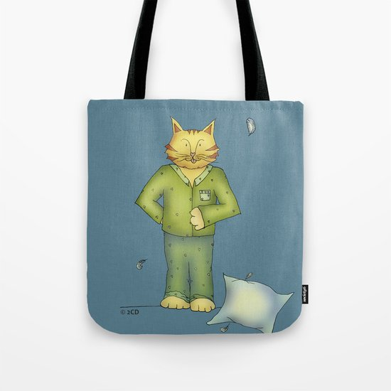 You are the cat's pajamas - blue Tote Bag