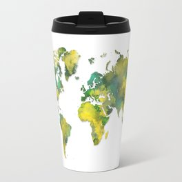 World Map 2040 Travel Mug