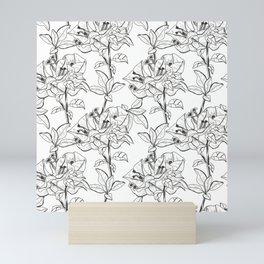 Bougainvillea Flowers Mini Art Print