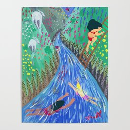 River vacation Poster