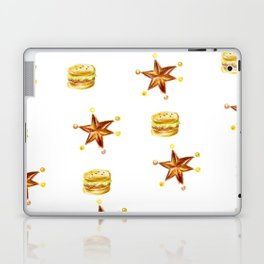 hamburgers and stars Laptop & iPad Skin