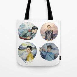 space crew Tote Bag