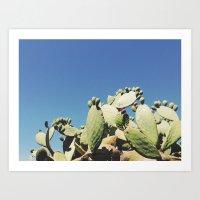 cactus iii Art Print