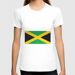 Extruded flag of Jamaica T-shirt