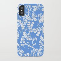 cherry blossom iPhone & iPod Cases featuring Cherry Blossom by Elena O'Neill