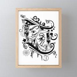 Zodiac - Gemini Framed Mini Art Print