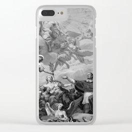 A Biblical Scene Clear iPhone Case