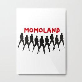 mo mo land dance Metal Print