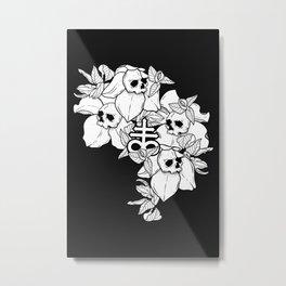 Flos Mortis Metal Print