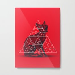 Sacred Sphynx Metal Print