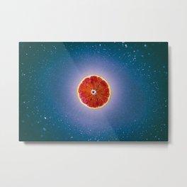 Orange sky 4 Metal Print