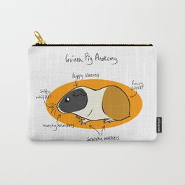 Guinea Pig Anatomy Carry-All Pouch