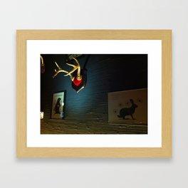 Jackalope Framed Art Print