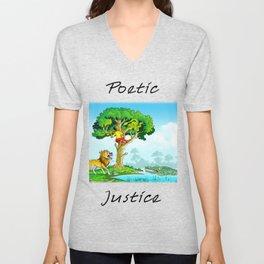 Poetic Justice Unisex V-Neck