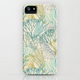 Flowing sea 2 iPhone Case