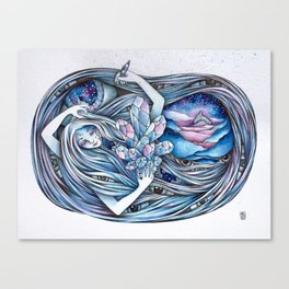Dreamcycle Canvas Print