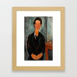 """Amedeo Modigliani """"Chaim Soutine"""" Framed Art Print"""