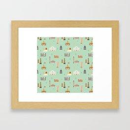 Italy pattern Framed Art Print