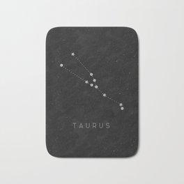 Zodiac Sign - Taurus Bath Mat