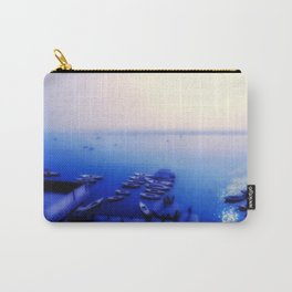 Dreamy blue shores of the Ganges River home decor art print bedding pillows duvet cover comforter Carry-All Pouch
