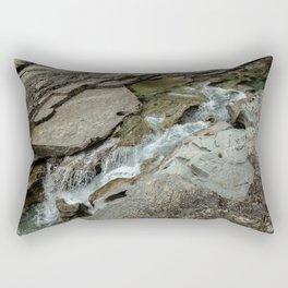 Cutting Through - Glacier NP Rectangular Pillow