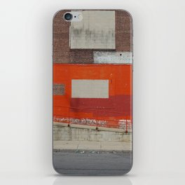 red red iPhone Skin