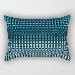 Oscillating Ocean Pattern Rectangular Pillow