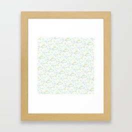 Goey Pattern Color Framed Art Print