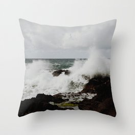 tidepools Throw Pillow