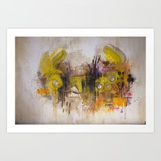 Mean Green Dual Action Minitiger Art Print