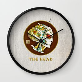 The head Wall Clock