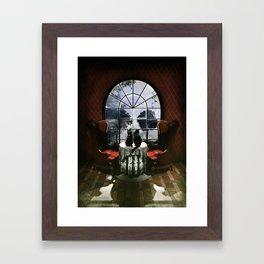 Room Skull Framed Art Print