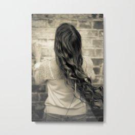 Young woman 11 Metal Print