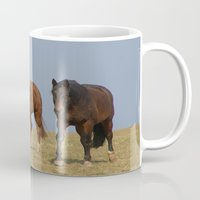 horses Mugs featuring horses by Laake-Photos