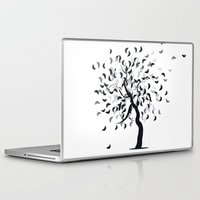 clear Laptop & iPad Skins featuring Clear by zabalza