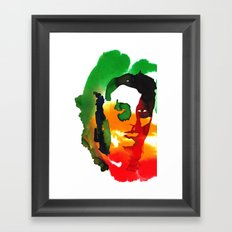 Invisible Friend Framed Art Print