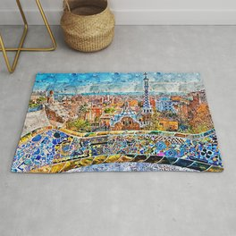 Barcelona, Parc Guell Rug