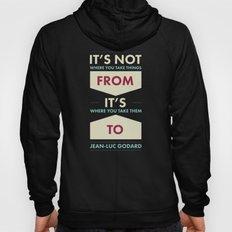 Godard (The quotes series) Hoody