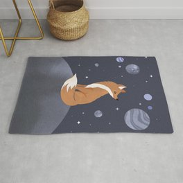 The lonely Fox Rug
