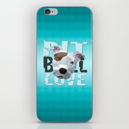 Pit Bull iPhone Skin