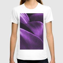 Ultraviolet Flower Petals #decor #society6 #buyart T-shirt