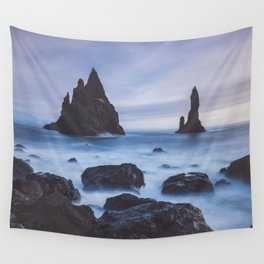 Reynisfjara - Landscape and Nature Photography Wall Tapestry