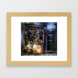 Made in Whitby Framed Art Print